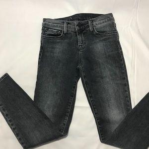 J Brand Skinny Crop Faithful Jeans